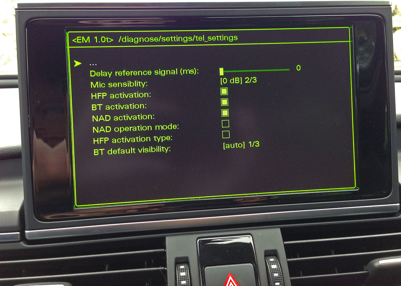 Bluetooth Phone and Dashboard Data SIM Card [Archive] - VW Audi