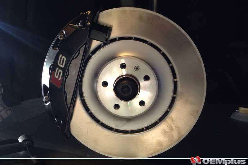 S6 Ceramic Brakes Retrofit